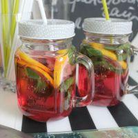 Гранатовый чай с лимоном и мятой
