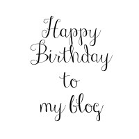 Happy birthday to my blog! 3 years