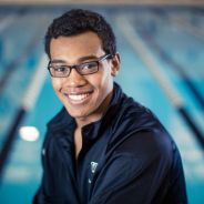 Michigan's Top Swimmer, Tabahn Afrik, Breaks Records & Stereotypes