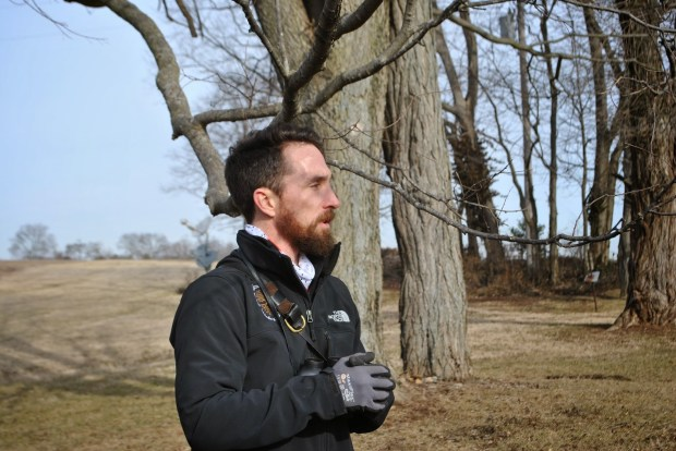 Certified Arborist Chris O'Bryan was a wealth of knowledge at our Winter Tree Walk.
