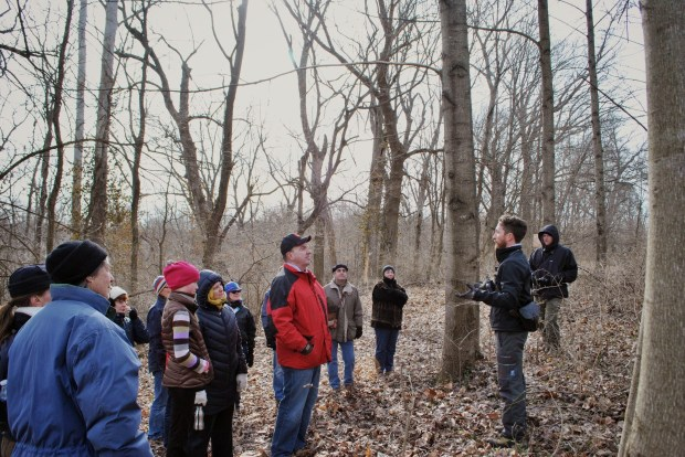 We were able to identify a number of trees, which will be marked for future educational opportunities along the trail.