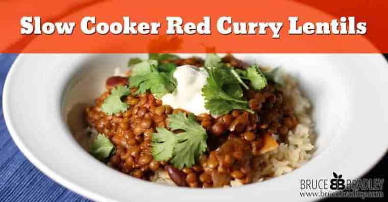 Although my Red Curry Lentils are inspired by flavors from Asia, don't let its international flair scare you away. In fact, it's a super easy slow cooker recipe that's the perfect marriage of flavor, nutrition, and convenience!