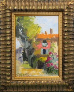 2016-39-art-landscapes-stebner-GoodTimes, Provence-framed