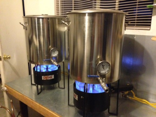 Brewing with gas thoughts on homebrew burner options for Natural gas heating options