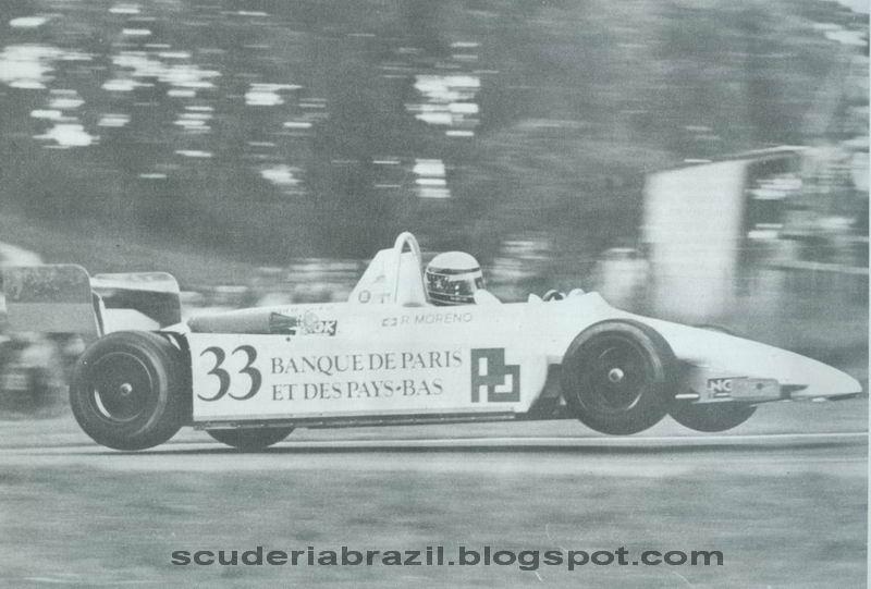 Moreno na F3, em 1981