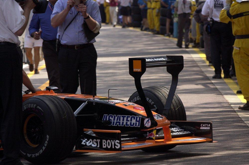 F1 MONACO 2001