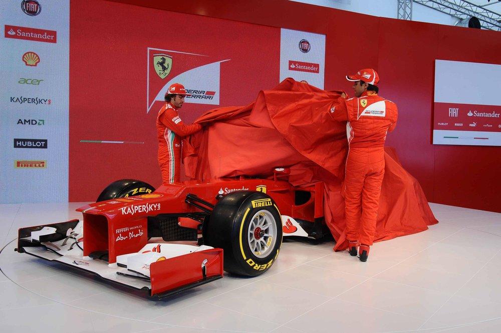 F1 - SCUDERIA FERRARI F2012 LAUNCH 2012
