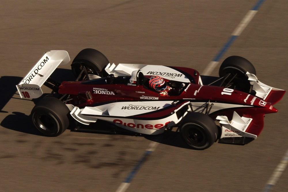 2002 CART Spring Training, 7-10 February, 2002, Laguna Seca, California, USA. Tony Kanaan Credit: ©2002, Lesley Ann Miller, USA LAT Photographic
