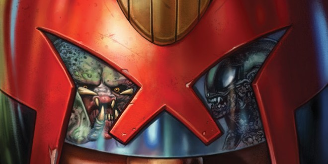 Predator Vs Judge Dredd Vs Aliens #1 (Comics) Review