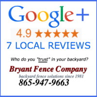 KNOXVILLE FENCE COMPANY BRYANT FENCE COMPANY