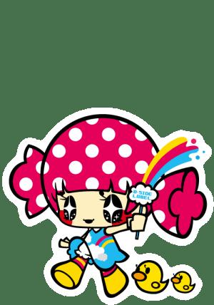 3936キムラ虹女子アヒル