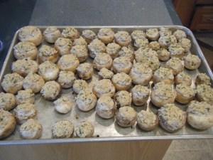 Stuffed Mushroom Caps   bsinthekitchen.com