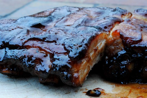Teriyaki Pork Ribs | bsinthekitchen.com #teriyaki #ribs #bsinthekitchen