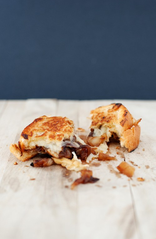 French Onion Soup Grilled Cheese | BS' in the Kitchen