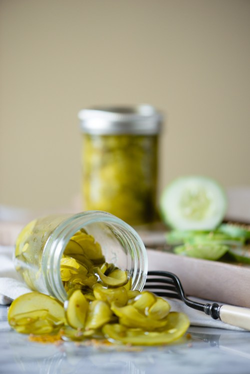 Yum Yum Pickles | bsinthekitchen.com #pickles #canning #bsinthekitchen