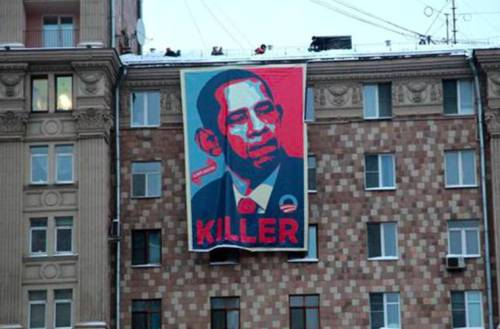 Russians Pay Tribute to America's Favorite Nobel Peace Prize Winner