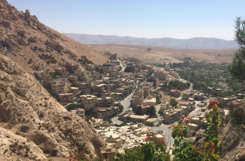 The ancient town of Maaloula which was liberated by the SAA in 2014