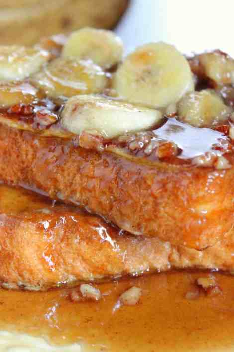 Banan Pecan French Toast