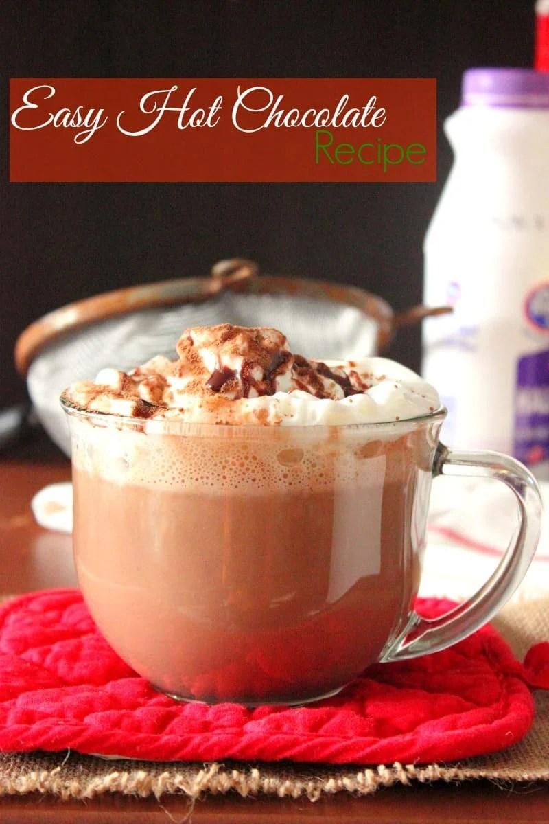 Easy Hot Chocolate Recipe | Brown Sugar