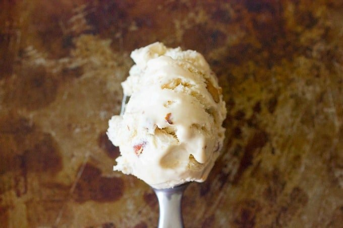 Salted Caramel & Roasted Almond Ice Cream