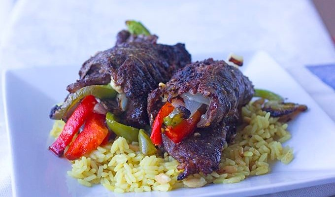 Savory Beef Roll Ups Recipe