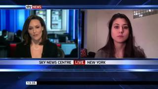 Bitcoin on Sky News in March 2013