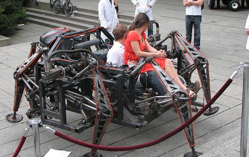 Mondo Spider - The Giant Mechanical Spider