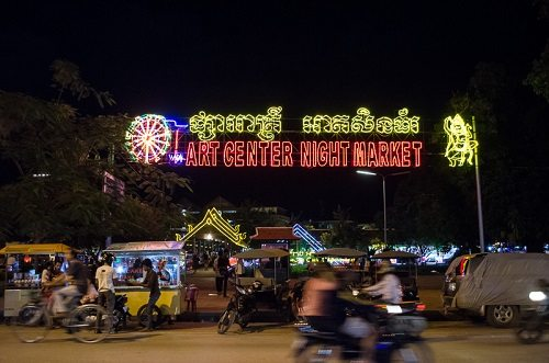 Night Market in Cambodia (by Tyler Ingram)