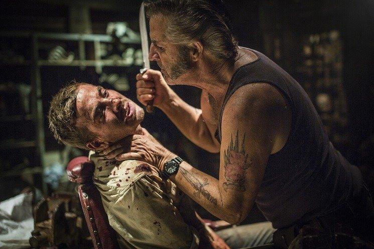 WolfCreek2_John_Jarratt_as_Mick_Taylor_and_Ryan_Corr_as_Paul_Micks_torture_chamber_7