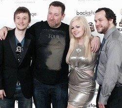 Sean Evans, Damon Rickard, Jessica Cameron and Erik Elick