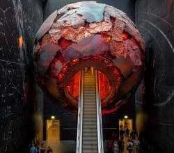 Escalator-through-Earth