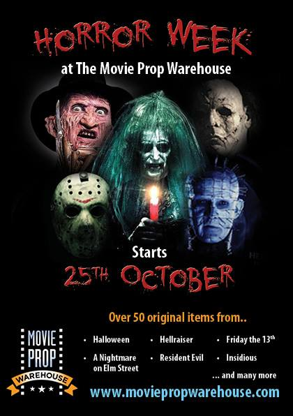 Horror week at the Movie Prop Warehouse