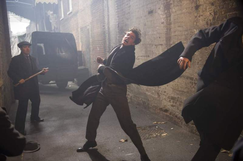 (c) of ITV Studios JEKYLL AND HYDE EPISODE 1 Pictured : TOM BATEMAN as Jekyll and Hyde. Photographers: DES WILLIE and JON HALL. This image is the copyright of ITV and must be credited. The images are for one use only and to be used in relation to JEKYLL AND HYDE, any further usage could incur a fee.