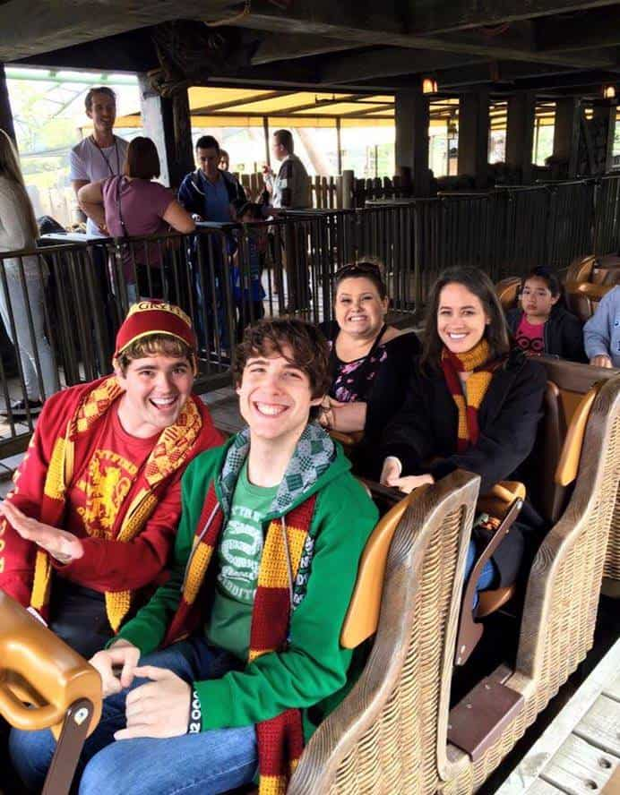 Flight of the Hippogriff ride - Universal Hollywood