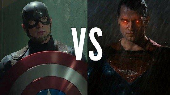 Superman Better Than Captain America Says Cavill