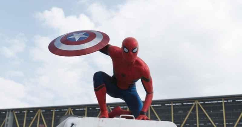 Marvel's Captain America: Civil War..Spider-Man/Peter Parker (Tom Holland)..Photo Credit: Film Frame..© Marvel 2016