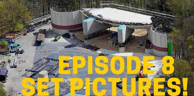 NEW Star Wars Episode 8 Set Pictures