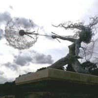 Make a wish statue plinth at Trentham Estate c