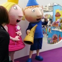 Ben and Holly at Toy Fair 2015