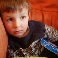 pensive preschooler - living arrows 4