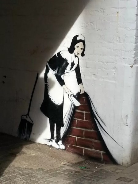 The fake Banbury banksy