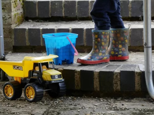 buckets diggers and wellies - sunday photo