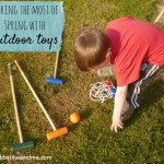 Making the most of Spring with outdoor toys