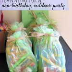 Planning for a non-birthday outdoor party
