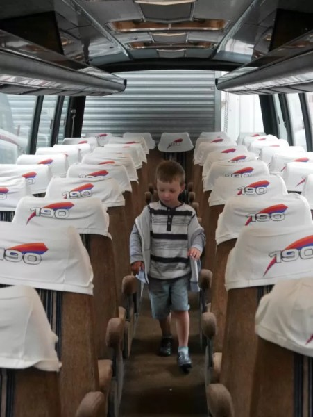 Oxford bus museum coach run