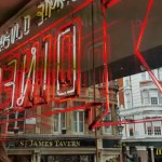 Bite to eat at pop-up Jamie Oliver's Diner, Shaftesbury Avenue