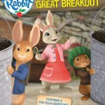 Peter Rabbit and The Great Breakout dvd giveaway