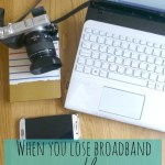 How to cope without broadband as a blogger