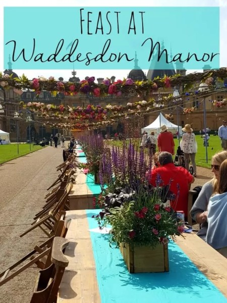 Feast at Waddesdon Manor