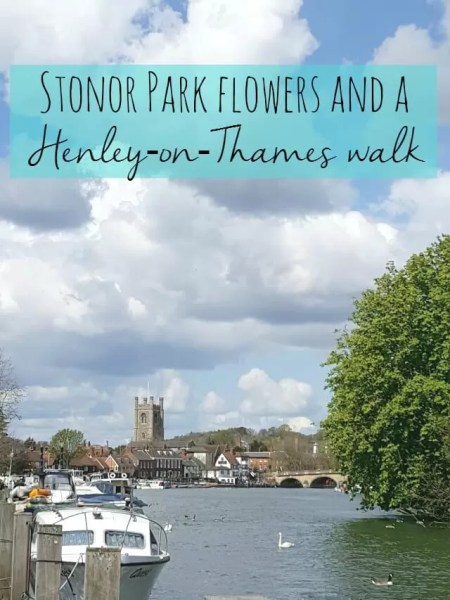 stonor park flowers and henley on thames walk - Bubbablue and me